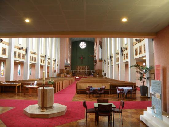 Waiapu Anglican Cathedral, Napier, New Zealand: The back