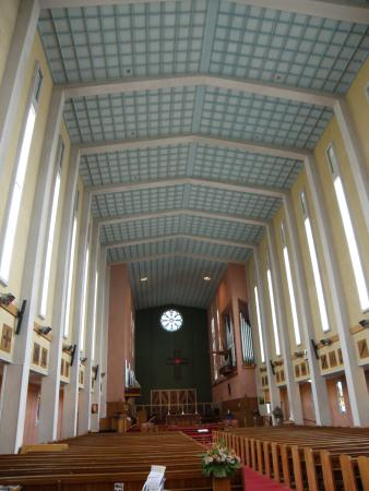Waiapu Anglican Cathedral, Napier, New Zealand: the front