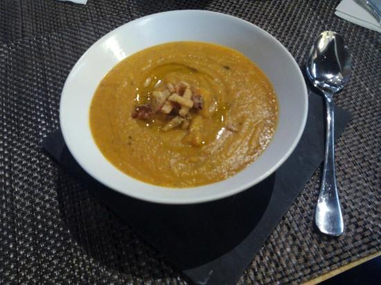 SAPORE Restaurante & Lounge Bar: Crema de verduras (Menú)