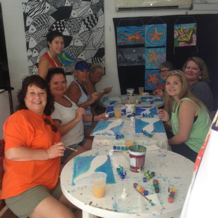 Belizean Melody Art Gallery: Painting Party