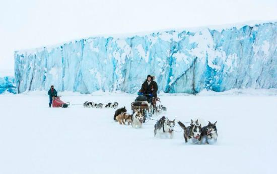 Svalbard Villmarkssenter - Day Tours: Photo Tommy Simonsen - 6 days dog sledge expedition