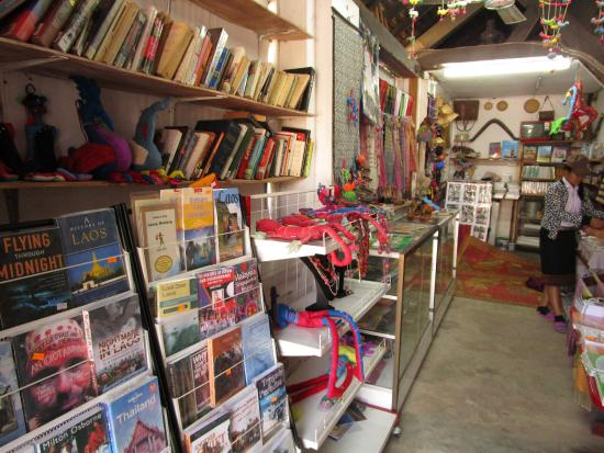 Bibliothèque de Luang Prabang : Bibliothek