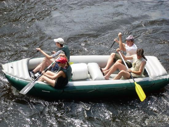 Kremze, République tchèque : rafting