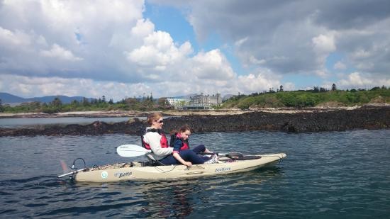 Sunfish Explorer - Motorised Kayaking Tours : Departure Locations from The Parknasilla Hotel