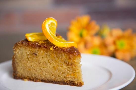 Homemade at Arnotts: Orange cake