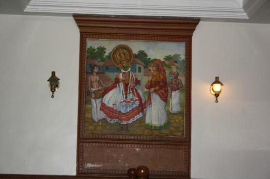 Astoria Veg Restaurant: art painting....