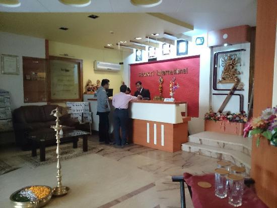Hotel Shakti International: Reception
