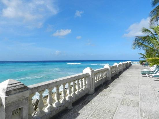 St Lawrence Gap: View from Dover Beach Hotel