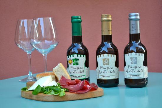 Osteria Spacciodivino: Le birrre artigianali del Birrifico Dei Castelli(AN)