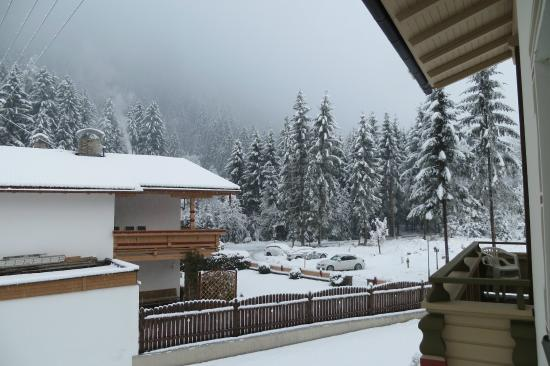 Chalet St Lukas: View from room 12