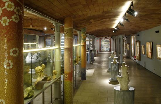 Sala pintura fotografía de Museu del Modernisme Català, Barcelona