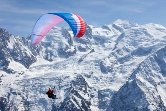 Wing Over Chamonix