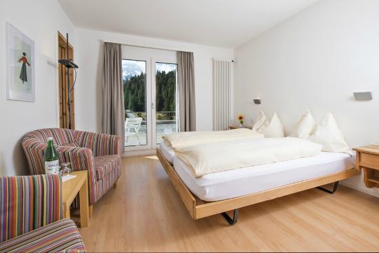 Hotel Restaurant Morteratsch: Zimmer Terrazza