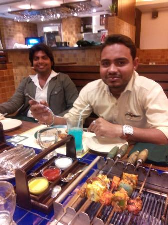 Barbeque Nation: Vaibhav and abhineet