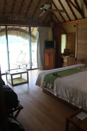 Bora Bora Pearl Beach Resort & Spa: quarto bangalô
