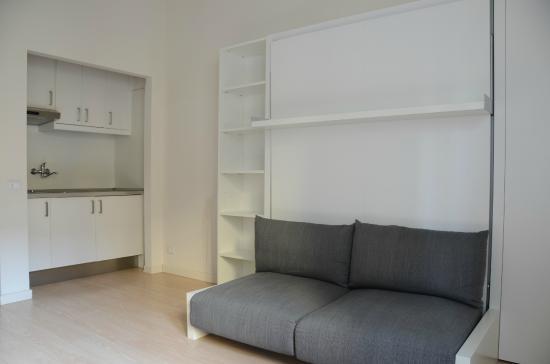 Sigieri Residence Milano : Appartamento con cucina a vista