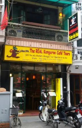 Kangaroo Cafe: Only at 18 Bao Khanh Street Hanoi