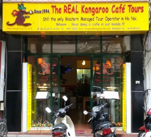 Kangaroo Cafe: Only at 18 Bao Khanh St Ha Noi