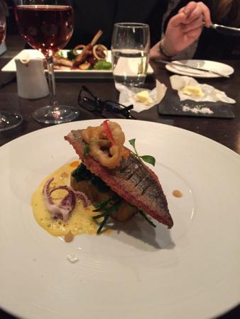 Homewood Park Hotel Spa Main Meal
