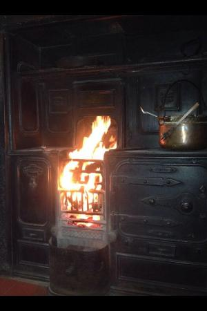 Holly Bush Inn: The lovely cosy snug fire place