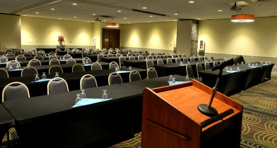 Holiday Inn & Suites Charleston West: Centennial Room - Classroom/Speaker view