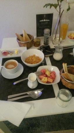 The Nordic Villa: Breakfast