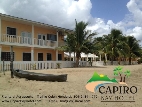 Trujillo, Honduras: Beach front suites