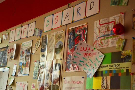 Ferijalac: Info board