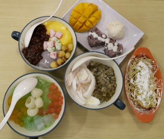 Asian Cuisine Desserts Of Tang Yuan Asian Desserts Jakarta Ulasan Restoran