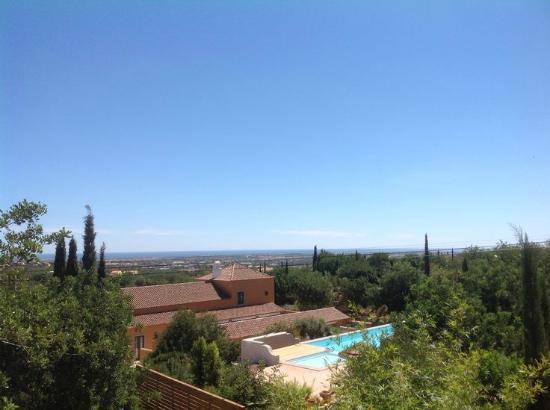 Quinta Rosa Amarela: Overview sea view