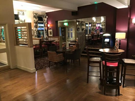 The Nags Head: New Bar Area