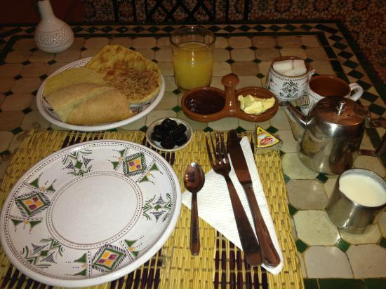 Riad Baddi : Breakfast