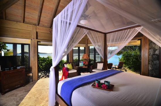 Остров Биф, Тортола: Seashell Villa Master Bedroom, Surfsong BVI