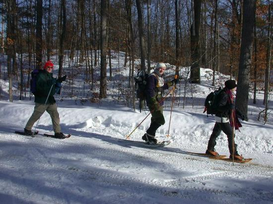 Lyndonville, Βερμόντ: X-country skiing on Kingdom Trails (on property)