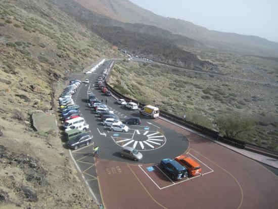 Teide Cable Car: PARKING