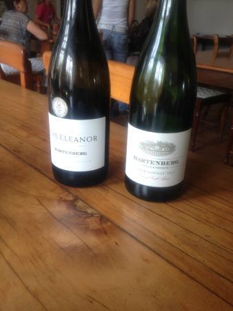 Hartenberg Wine Estate: The Chardonnays