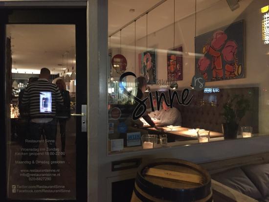 Restaurant sinne picture of restaurant sinne amsterdam for Spielzimmer 5 sinne