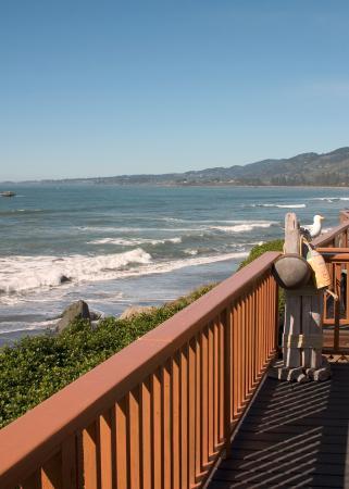White Rock Resort: Unobstructed ocean views