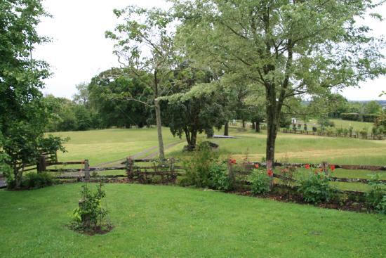 The Drury Homestead: The front garden