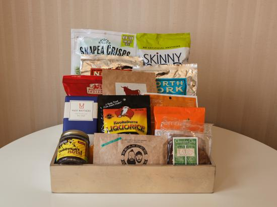 The Benjamin: Snack Box -  curated by Iron Chef Geoffrey Zakarian