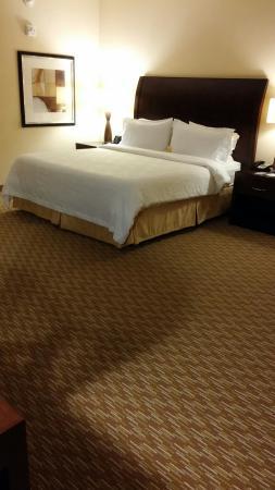 Hilton Garden Inn Huntsville South: King bed (large room)