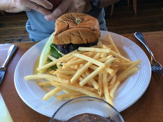 Trident Restaurant: Trident burger