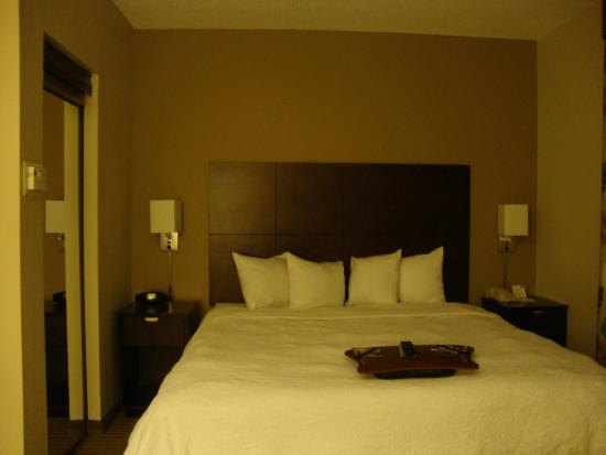 Hampton Inn & Suites Boynton Beach: Suite tipo 1 - Cama