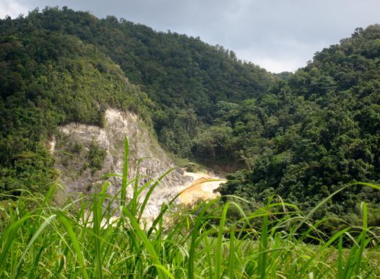 Blue Mountain Experience: Mountain Limestone quarry