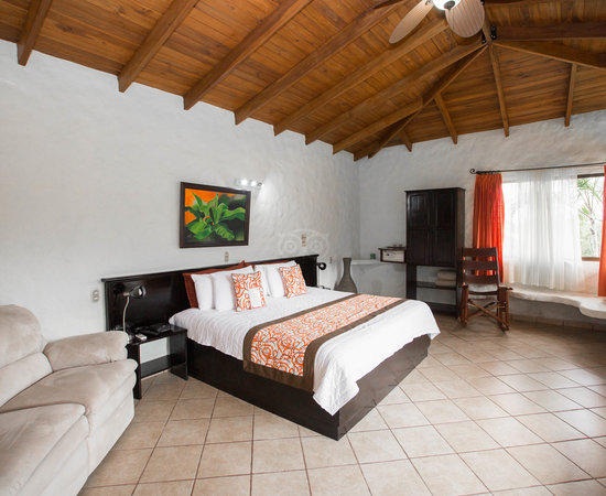 The Junior Suite at the Arenal Volcano Inn