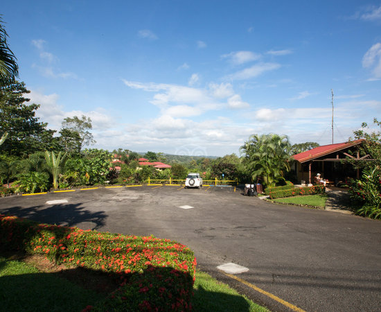Parking at the Arenal Volcano Inn