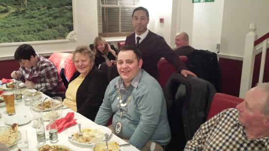 Red Pepper Indian Restaurant: On charity night