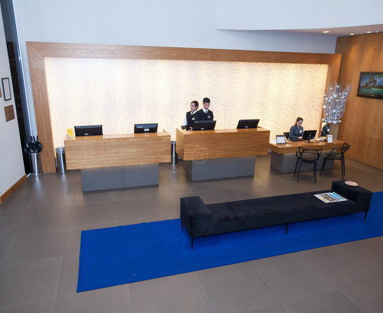 Front Desk at the Radisson Blu