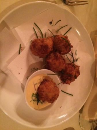 Palladio Restaurant: Lobster Fritters