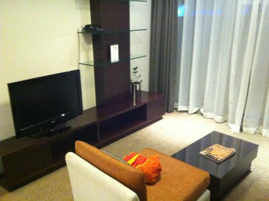 Lotus Hotel Apartments & Spa, Dubai Marina : Coin salon